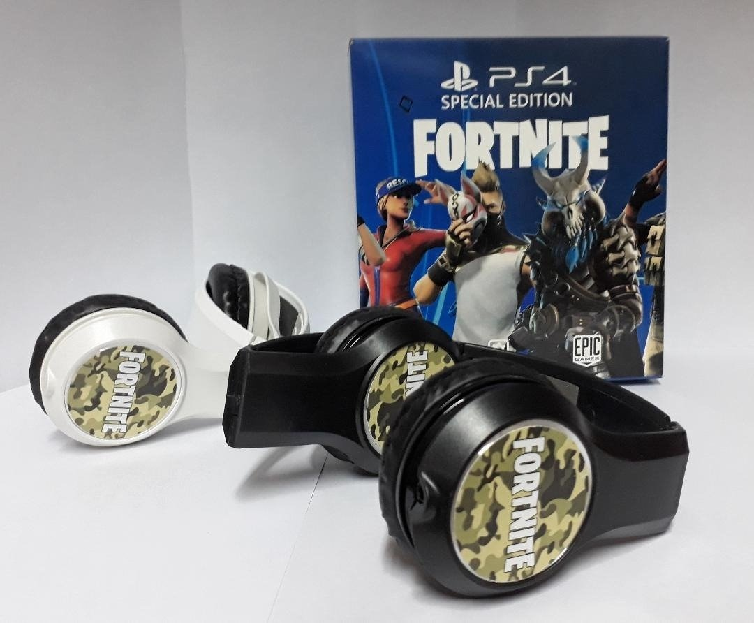 auricular vincha ps4 fortlite con mic - special edition