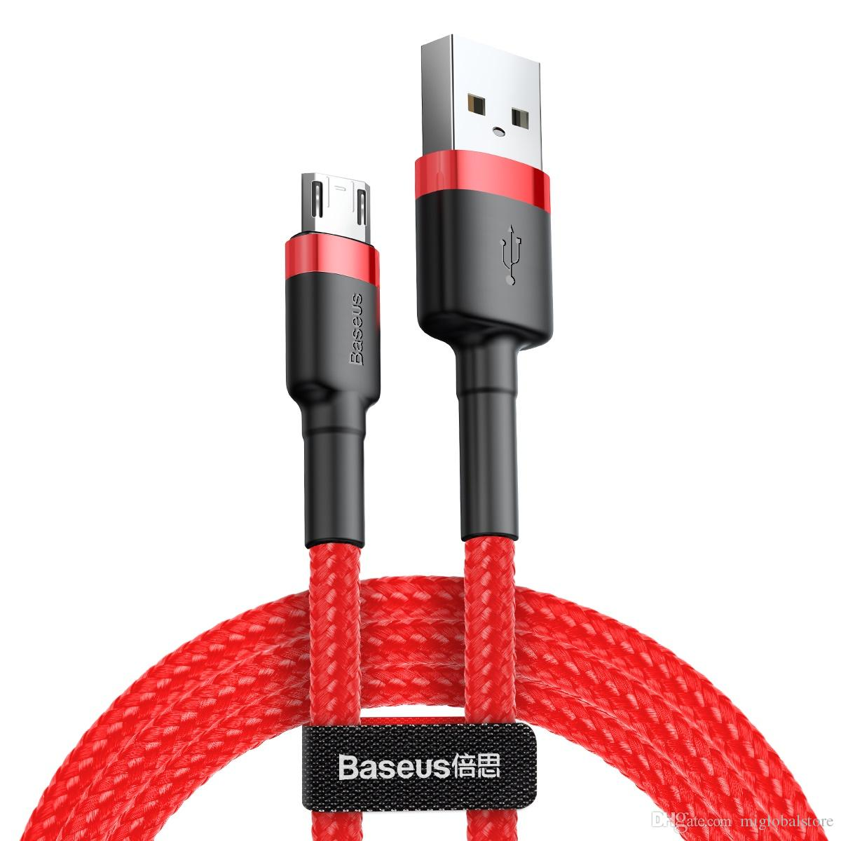 cable micro usb 2.4a - k-charging