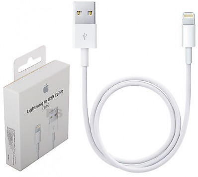 cable usb iphone 5 power&data blanco
