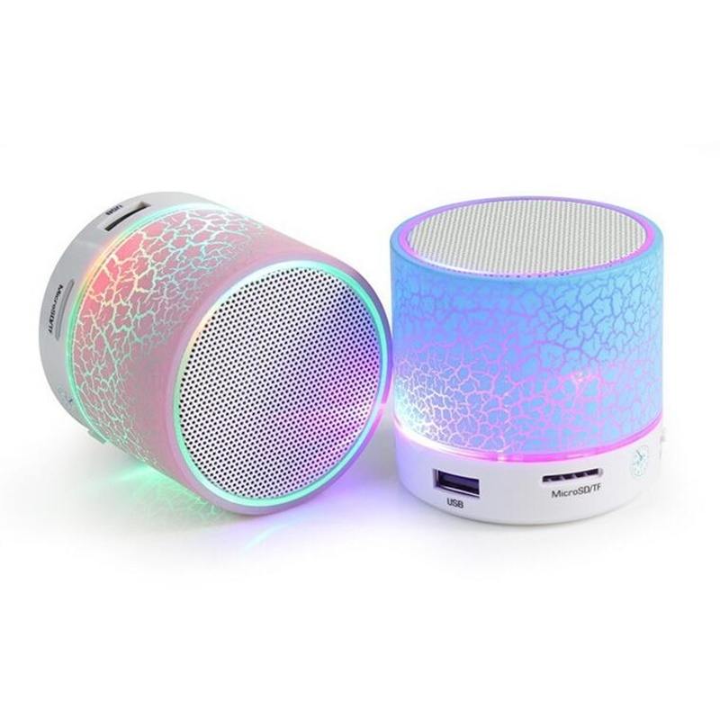 parlante bluetooth ch-121 con luces, radio y usb
