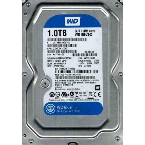 disco interno western digital 1 tera blue