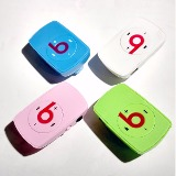 mp3 clip mini beats con lector micro sd