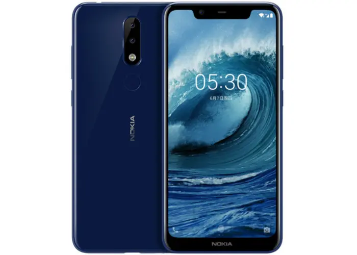 nokia 5.1 plus 32gb - 13mp+5mp/pantalla hd/3gb ram