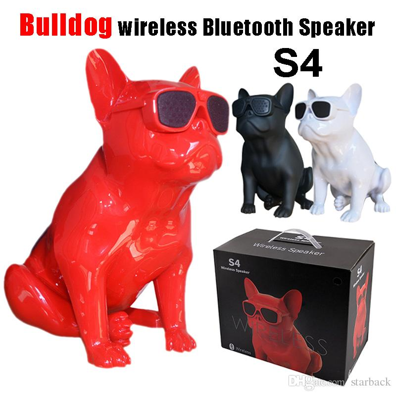 parlante bulldog s4 - bluetooth/radio/sd/aux