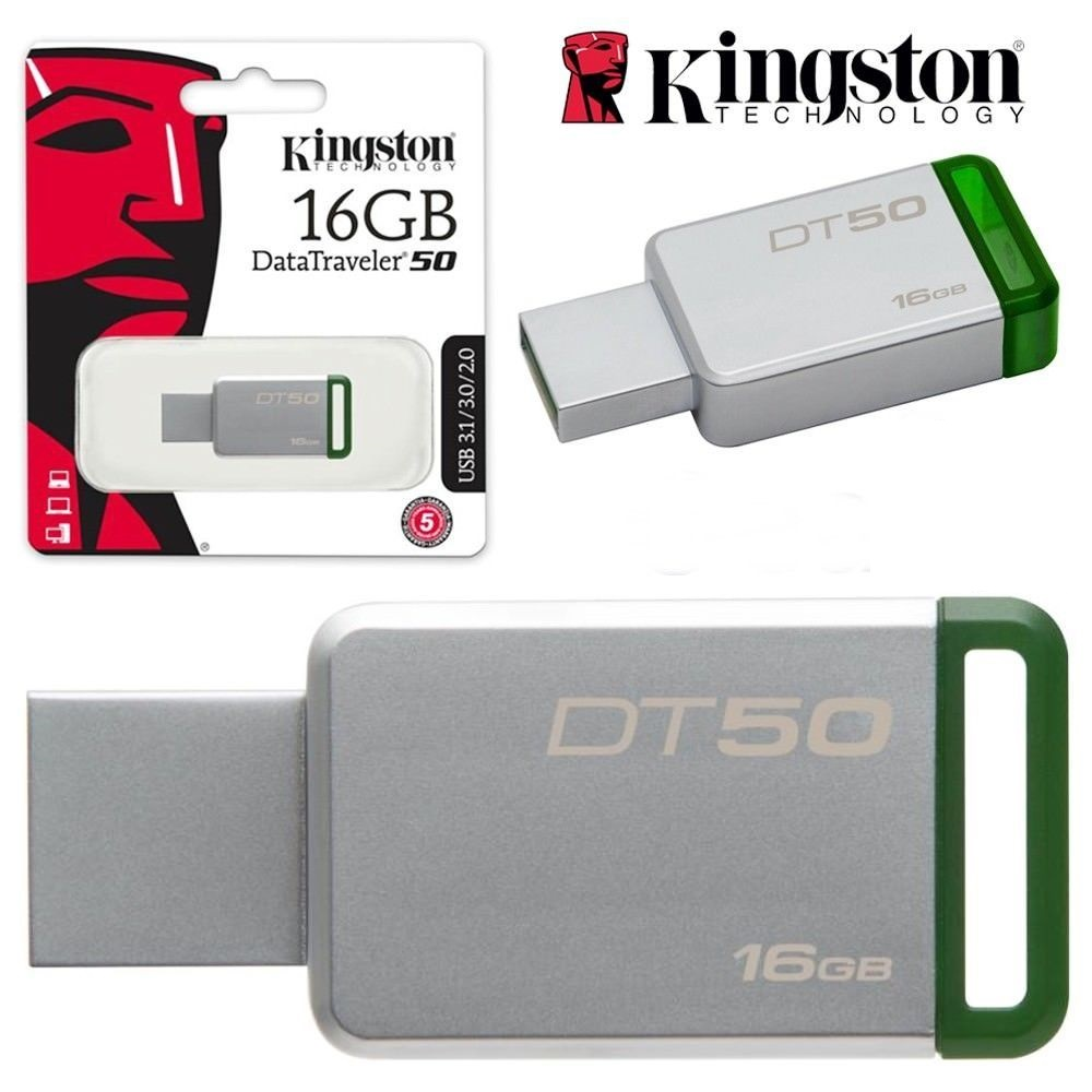 pen drive 16gb kingston dt50 usb 3.0