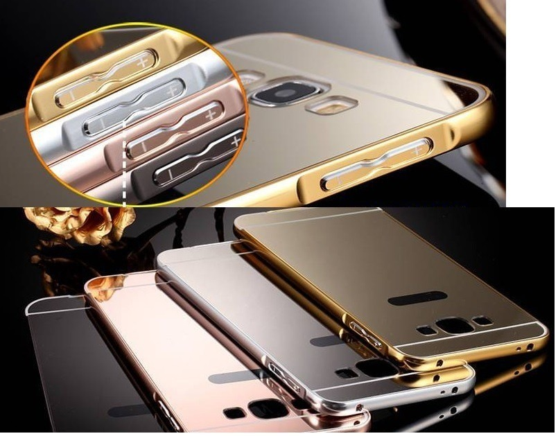 funda espejada metal iphone 6 plus