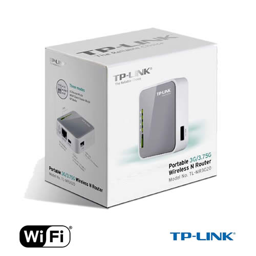 router wi-fi tp-link mr-3020 mini 150mbps - 3g/4g